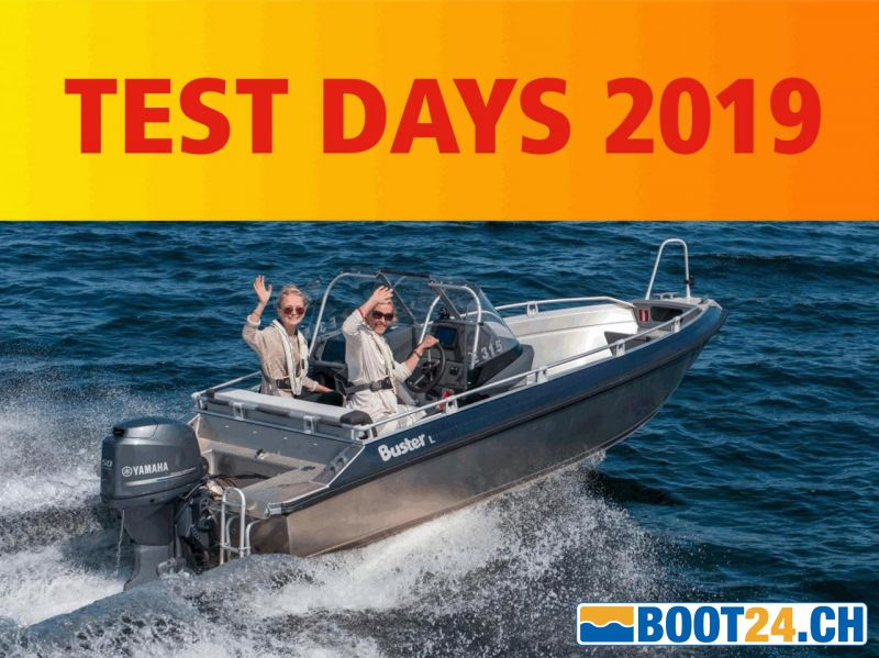 <b>Test Days 29.-31.03.2019, Lake of Lucerne</b>