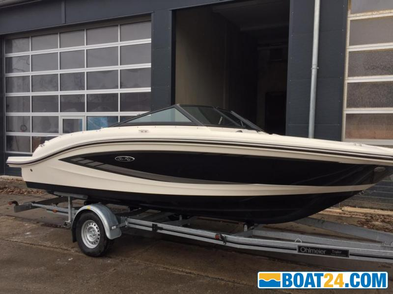 <b>Sea Ray 19SPX Bowrider</b><br/>SeaRay, SPX190, Runabout, Sportboot, Mercruiser