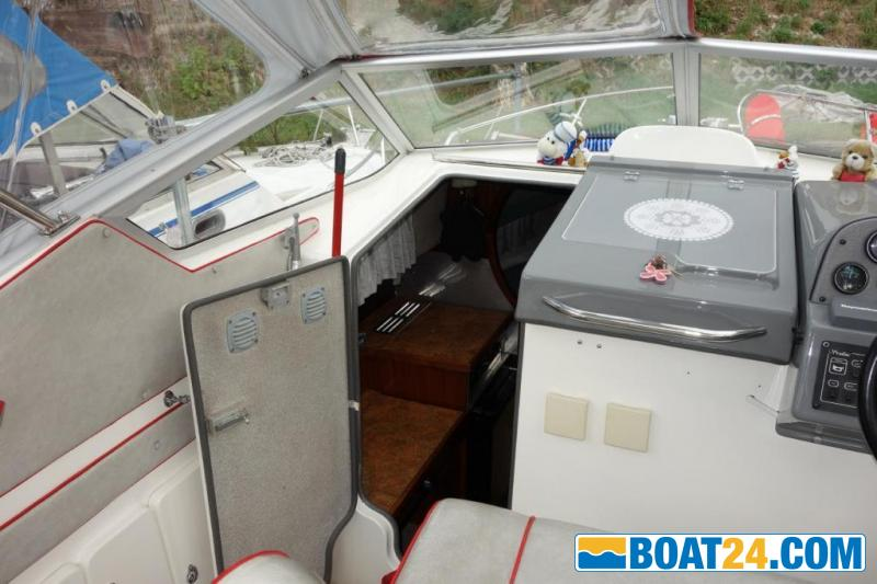 <b>Sealine 218 Family</b><br/>Kaj&uuml;tboot, Cuddy Cabin, Unterflurkabine, Dusche, kein Sea Ray Bayliner BavariaKaj&uuml;tboot, Cuddy Cabin, Unterflurkabine, Dusche, kein Sea Ray Bayliner Bavaria