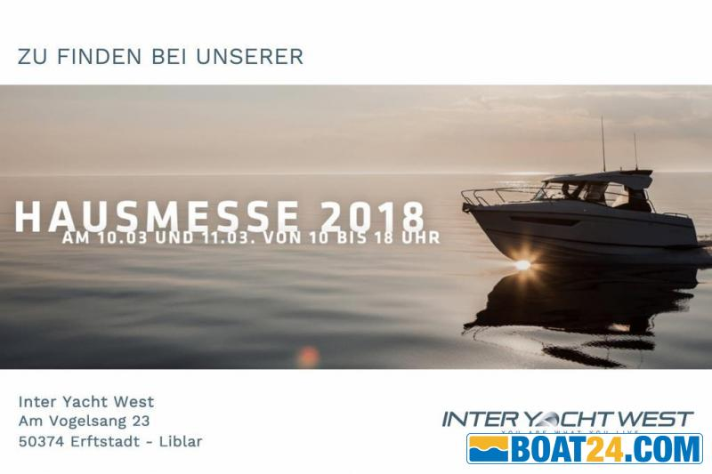 <b>Parker 660 Pilothouse by Inter Yacht West</b><br/>HAUSMESSE 2018 by Inter Yacht West