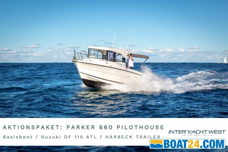 <b>Parker 660 Pilothouse by Inter Yacht West</b><br/>AKTIONSPAKET Parker 660 Pilothouse by Inter Yacht West