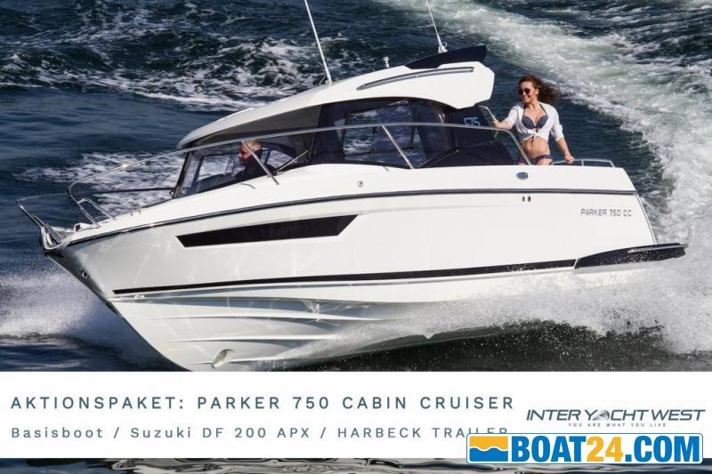 <b>Parker 750 Cabin Cruiser CC by Inter Yacht West</b><br/>AKTIONSPAKET Parker 750 Cabin Cruiser CC by Inter Yacht West