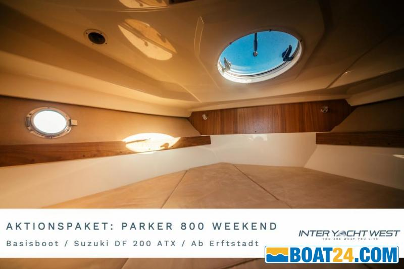 <b>Parker 800 Weekend by Inter Yacht West</b><br/>AKTIONSPAKET Parker 800 Weekend by Inter Yacht West