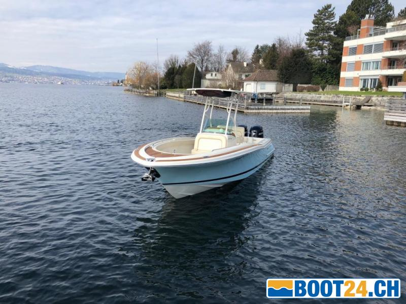 <b>Chris Craft Catalina 26 - Portier Yachts</b><br/>Tolle Linie aus jedem Blickwinkel<br />