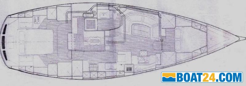 <b>Nordia 50 Ketch</b><br/>lay out