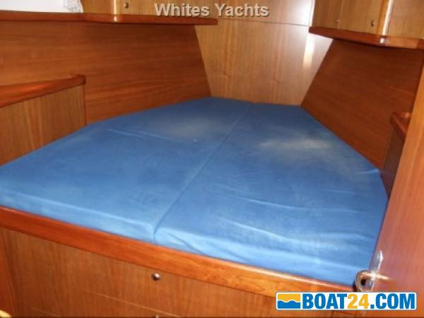 <b>Nordia 50 Ketch</b><br/>fore cabin