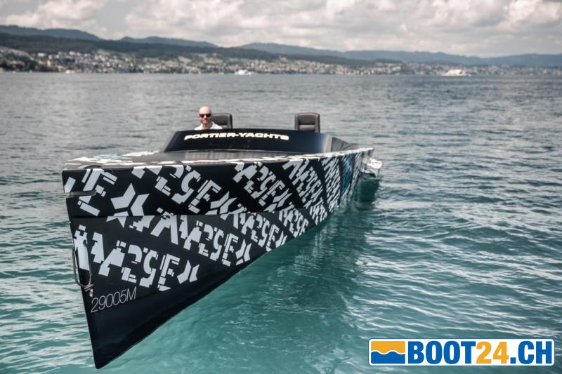 <b>SAY29E - Portier Yachts</b><br/>Elektroboot der Superlative