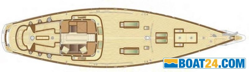 <b>Truly Classic 56</b><br/>lay out deck