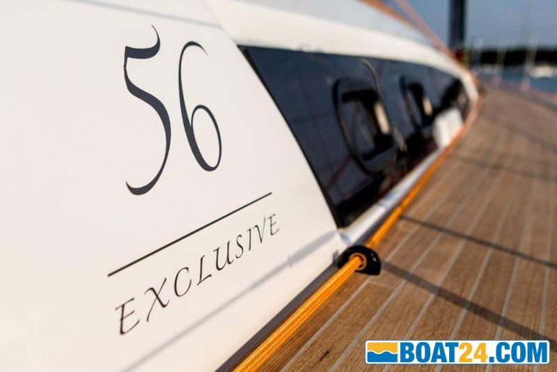 <i>catalog image</i><br/><b>Dufour 56 Exclusive</b><br/>view side deck