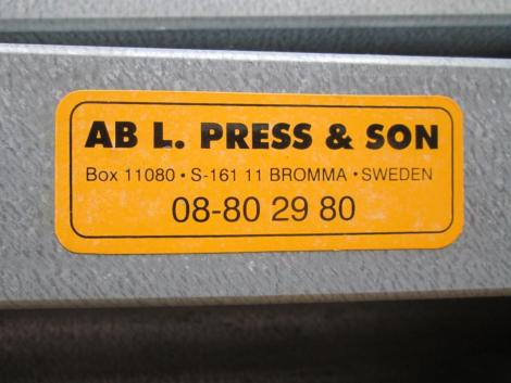Press och Son