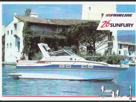 Fairline 26 Sun Fury