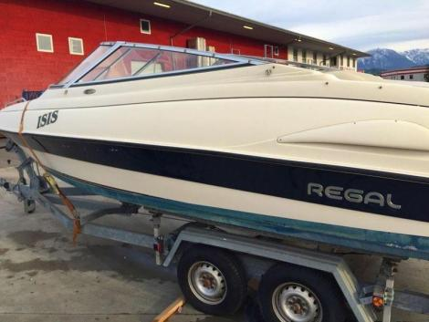 Regal 202 Sc Cuddy- 96- Trailer