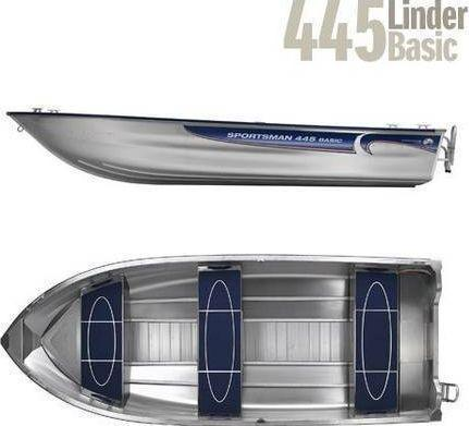Linder 445 Sportsman Basic mit 20 PS Alu-Boot