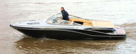 Viper 223 Toxxic mit LP am Bodensee