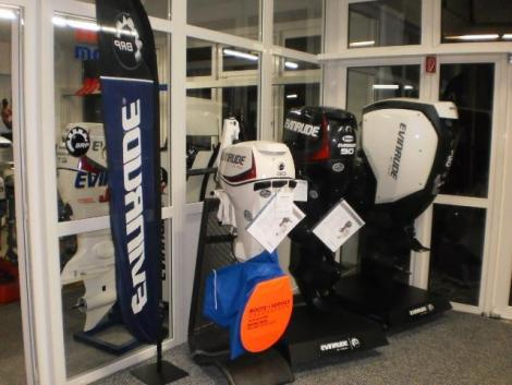 <b>Evinrude G2 bei Boote Service Oberbayern</b><br/>wer was anderes f&auml;hrt ist selber Schuld