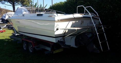 Ilver Motorboot