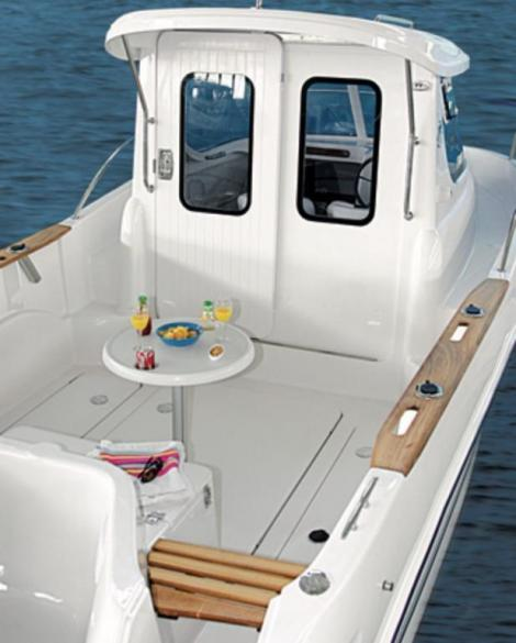 Quicksilver 580 Pilothouse Erstwasserung 2017