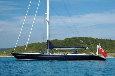 90 Ft ALuminium sloop - Dark Star of London