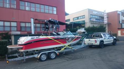 Nautique Super Air 210 Wakeboard NSS Surf System