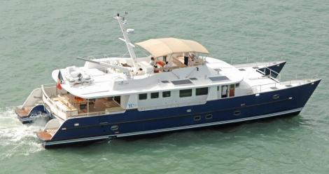 <b>YC 80</b><br/>Long range Catamaran