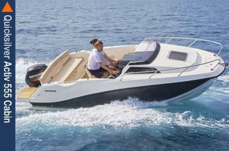 Quicksilver (Brunswick Marine) 555 Cabin + 80PS