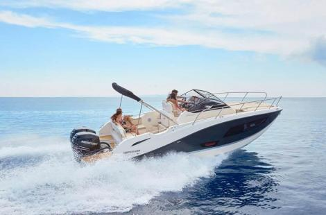 Quicksilver (Brunswick Marine) ACTIV 875 SD, Twin Mercury 250 JPO
