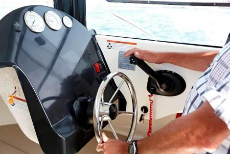 Quicksilver Captur 555 Pilothouse / Nuova