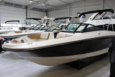 Sea Ray SPX 210 OB mit Trailerset