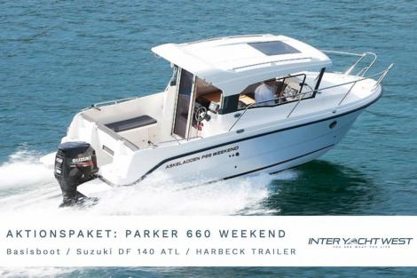 <b>Parker 660 Weekend by Inter Yacht West</b><br/>AKTIONSPAKET Parker 660 Weekend by Inter Yacht West