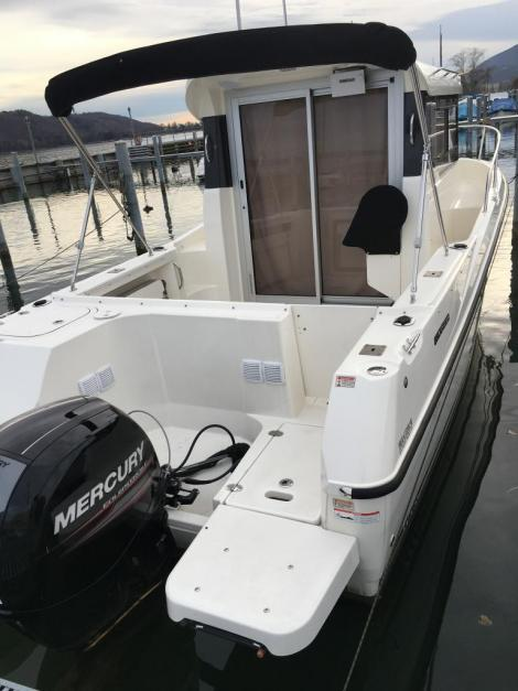 Quicksilver Pilothouse