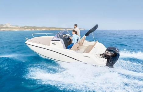 Quicksilver Activ 605 Sundeck + 150 PS