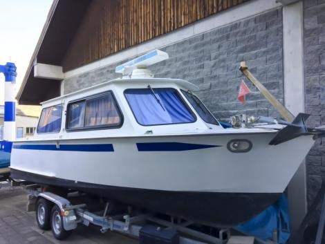 Hasler Arrow 28 Stahlboot