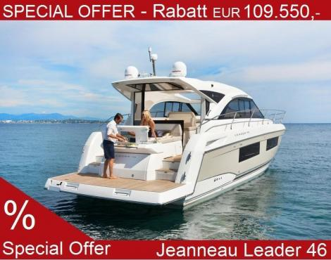 <b>Jeanneau Leader 46</b><br/>Special offer