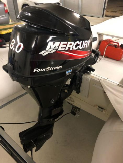 Quicksilver Motorboot 8 PS