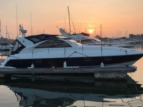 At Sunset on her Berth