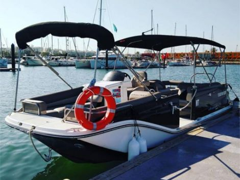 Bayliner ELEMENT XR7 SECOND HAND BOAT IN PORTUGAL