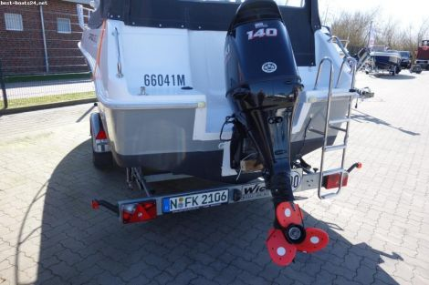 Drago Boats 660S + SUZUKI DF 140 +TRAILER