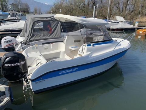 Quicksilver (Brunswick Marine) 530 Flamin refitted 2019