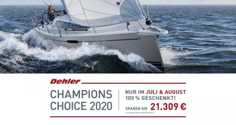 Dehler 34 !Champion Choice Offer!