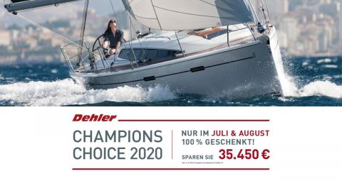 Dehler 38 SQ !Champion Choice Offer!
