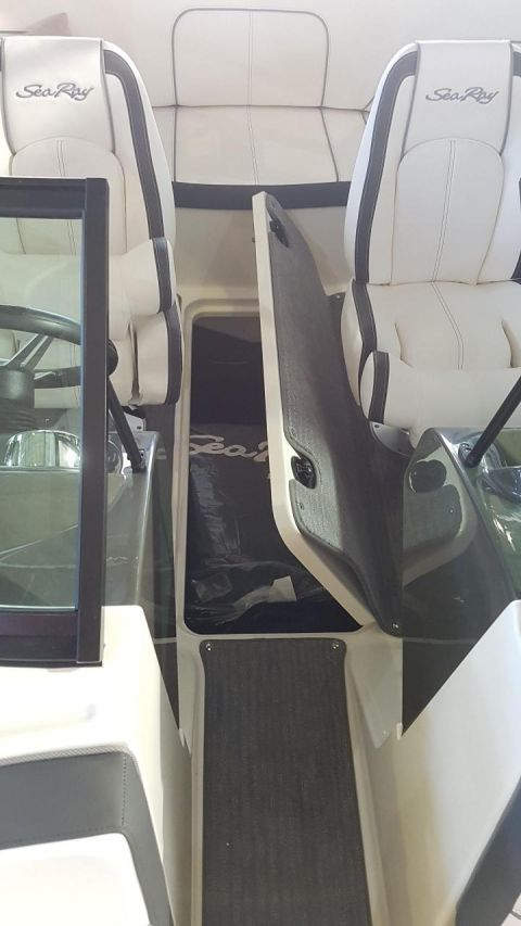 Sea Ray 190 Sport mit Wakeboard Tower