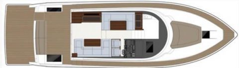 Sealine F48, Flybridge