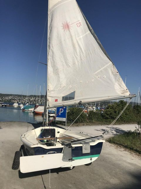 Laser Performance Sailcraft Laser 13