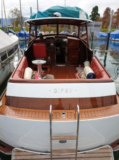 Faul Swiss Craft Mahagoni Yacht