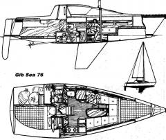 Gilbert Marine gib'sea 76