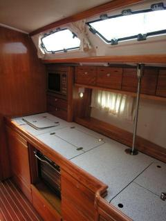 <b>Pantry Bavaria 40 Cruiser</b>