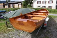 Holz-Motorboot