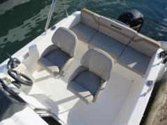 Quicksilver 455 Cabin + 50 PS LAGERBOOT 1