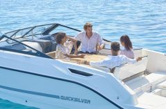 Quicksilver (Brunswick Marine) 755 Cruiser, 225 V6