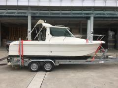 Quicksilver 605 Kabin Fischerboot